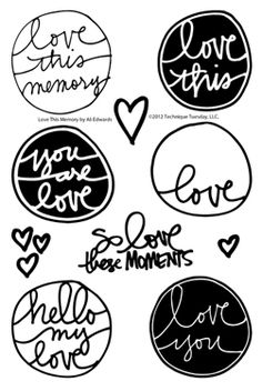 Technique-Tuesday-SAE-Love-This-Memory-By-Ali-Edwards-Clear-Stamps-Medium.jpg (251×375)