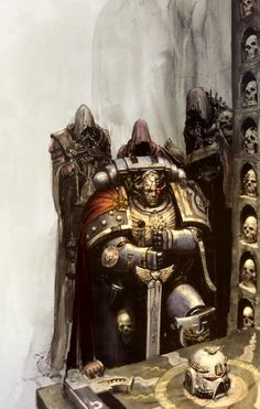 Original artist is Karl Kopinski. © Games Workshop Ltd. 2010 Champion of Ultramar Warhammer 40k Rpg, Warhammer Fantasy, High Fantasy, Fantasy Art, Dragon, Dark Ages, Space Marine, Les Oeuvres, Game Art