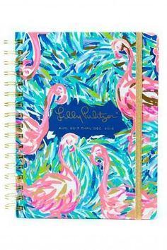 2017-2018 17 Month Lilly Pulitzer Large Agenda in Flamenco Beach