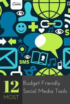 12 Most Budget Friendly Social Media Tools
