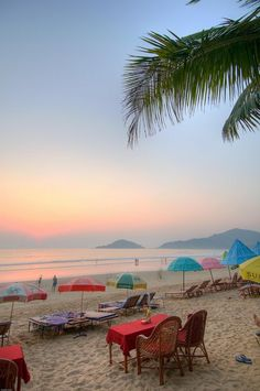 The beautiful beaches of Goa, India.  A wonderful place to travel to. Loved it! Look forward to going back again :)