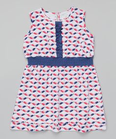This Pink Butterfly Ruffle Skater Dress - Infant, Toddler & Girls by nktoo by Nohi Kids is perfect! #zulilyfinds