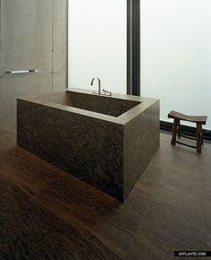 Sammlung Boros Bathroom renovation by Realarchitektur. Photo by Hanns Joosten.