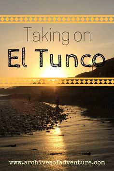 Join me on a trip to El Tunco- a small surfing town on the coast of El Salvador.