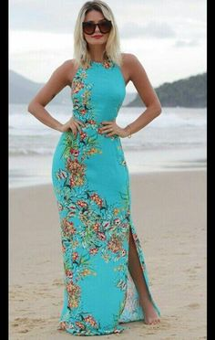 New Ideas holiday beach fashion maxi dresses Dress Outfits, Casual Dresses, Short Dresses, Fashion Dresses, Summer Dresses, Maxi Dresses, Sewing Clothes Women, Clothes For Women, Robes Glamour