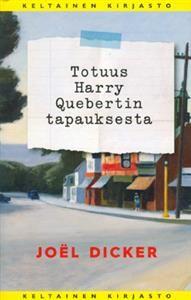 http://www.adlibris.com/fi/product.aspx?isbn=9513173054   Nimeke: Totuus Harry Quebertin tapauksesta - Tekijä: Joel Dicker - ISBN: 9513173054 - Hinta: 26,90 €