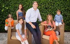 Marco Rubio with wife Jeanette, and children Dominic, Amanda, Anthony and Daniella