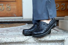 Alegria Keli Black Emboss Paisley | Alegria Shoe Shop #AlegriaShoes