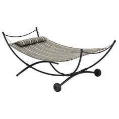 07bf45cd2297aa1bd93d1f9e17435545  patio jpg vivere tropical fabric hammock stand included uhsdo9   products      rh   pinterest