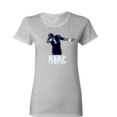 Keep Dabbing Carolina Panther Ladies T-shirt Sports Clothing