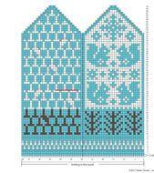 Knitting Charts, Knitting Stitches, Knitting Socks, Baby Knitting, Knitting Patterns, Knitted Mittens Pattern, Crochet Mittens, Crochet Gloves, Knit Art