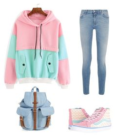 """""""Untitled #14"""" by fawn98 on Polyvore featuring Givenchy, Vans and Herschel Supply Co."""