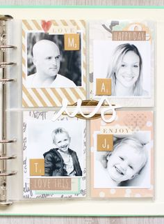 Le scrap d'Amélie: Family Portraits #1 CatFile Design Team