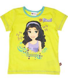 LEGO Friends Emma yellow summer t-shirt #emilea