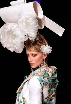 "seaborder: "" John Galliano for Christian Dior Spring-Summer 2005 Haute Couture """