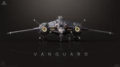 Vanguard Concept Art (Star Citizen) by gurmukh bhasin