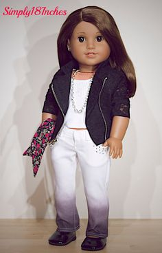 RESERVED FOR EMPRESS American Girl Doll Moto by Simply18Inches