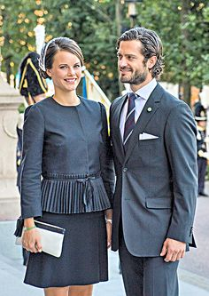 Sofia and prince Carl Philip