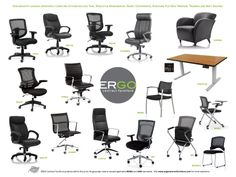 Looking for the ultimate chair that takes the guess work out of adjustments? The Chairs by Ergo Contract Furniture are incredibly easy to use, and definitely provide an upscale image for your work environment.