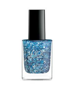 Lakier do paznokci z teksturowym wykończeniem (koronka) BEAUTIFUL BLUE