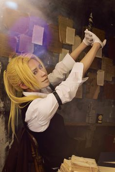 Beat Hatano(びぃと。) Edward Elric/Ed Cosplay Photo - Cure WorldCosplay