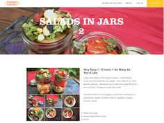 Avanti Cafe Musings: Salads in Jars 2 :: Chef Mark Cleveland @ Hungry H...