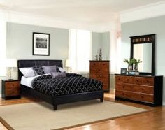 """emily black bedroom set 