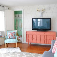 Tips on how to update your Living Room.