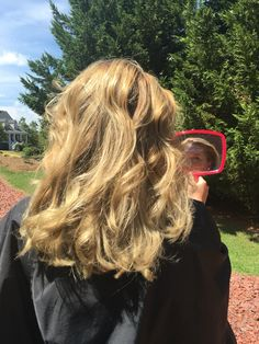 Blended blonde is always beautiful and more natural.