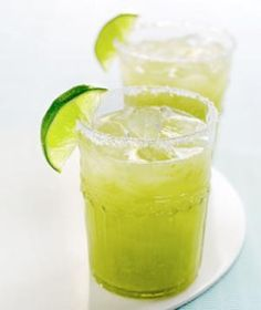 Get Lucky Margarita~only 67 calories!