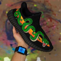 Name these Customs! ⠀ ⠀ Customs made by our sponsored artist @dejesuscustomfootwear▪️ • • • #Angelusdirect #Angeluspaint #Angelusbrand #yeezyv2 #yeezy #yeezy350 #yeezyboost #yeezyseason #yeezyboost350 #kanyewest #dragon #boost #boostvibes #Art #Paint #Create #Custom