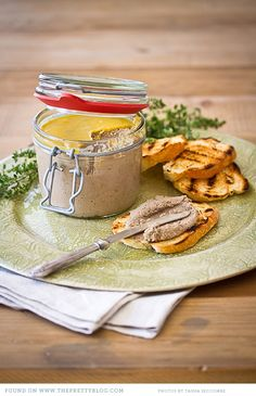 the ultimate chicken liver pate 001 Ultimate Chicken Liver Pâté {Recipe} http://www.theprettyblog.com/food-and-wine/ultimate-chicken-liver-pate-recipe/