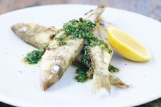 Small grilled fish