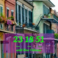 NOLA tomorrow! I'm so excited I just can't hide it. #neworleans #nola #vacation #frenchquarter #countdown by xxjenadanxx