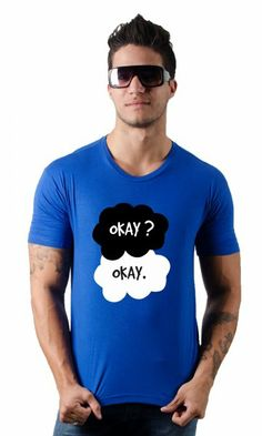 Camiseta A culpa é das estrelas Okay Okay por apenas R$38.90