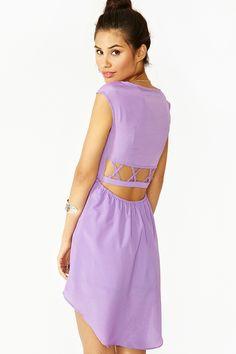 Lattice Tail Dress
