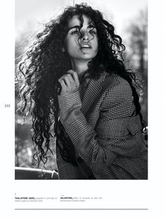 Chiara Scelsi Wears Romantic Looks for L'Officiel Italy – fashion editorial photography Curly Hair Tips, Curly Hair Styles, Natural Hair Styles, Editorial Photography, Fashion Photography, Glamour Photography, Lifestyle Photography, Forever 21 Outfits, Italy Fashion