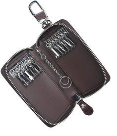 12 Schlüssel  Koffer, Rucksäcke & Taschen, Zubehör, Schlüsselmäppchen, Damen Key, Personalized Items, Taschen, Leather, Women's, Unique Key, Keys