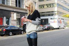 Elin Kling from Style by Kling in a Joseph jumper