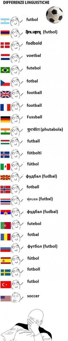 Soccer. But it's so true..