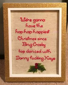 National Lampoon's Christmas Vacation Quote by stitchedbycandy