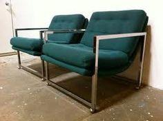 milo baughman armchairs