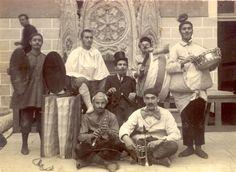 """Bando del anuncio de la """"Festa del reservat"""". Borriana en 1923"""