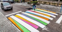 No one really pays attention to crosswalks, even if they could, you know, prevent you from dying. But what if they looked different – more colourful and vibrant