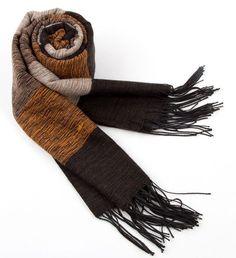 Winter Scarf Men Cotton Cashmere Cotton Shawls And Scarves Stripe Scarfs Male Brand Scarf Warm Shawl Black Muffler