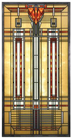 Amazon.com: Square FLW Bradley House Skylight in Colorful Arrow and Stripe Designs: Home & Kitchen