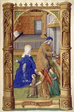 Biblioteca Digital Hispánica - 012-Libro de horas de Carlos VIII Rey de Francia - 1401-1500