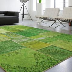 Limited Edition Mystic Carpet (Green) modern rugs Of course my favorite and soooo expensive! $4181
