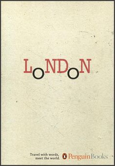 Penguin Books: Travel with words, London, Iesp, Penguin Books, Print, Outdoor, Ads