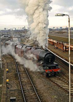 #flickr #train #steam #engine